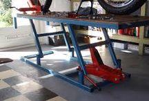 moto garáž