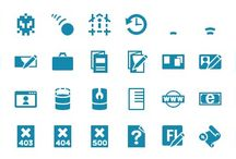 Icon fonts by Iconshock