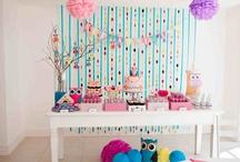 Festas Inspirações / Inspirações de decoração de festinhas infantis.