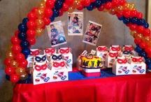 SuperHero Birthday Party ! / Great ideas for a super hero birthday party Pow! super hero party ... www.Trendyfunparty.com , Atlanta GA