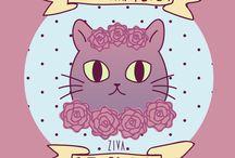 ZIVA illustration / Art by ZIVA!  Follow on: https://www.instagram.com/zivaillustration/ http://zivaillustration.tumblr.com/