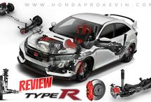 2017 Honda Civic Type R Turbo Review / Specs / R&D / Development + More! | FK8 Hatchback / Everything you NEED to know about the Fastest & Baddest Honda Sports Car to hit the USA - The VTEC Turbo Type R Civic @ www.HondaProKevin.com