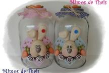 frascos de animales mixtos bebes / by Maria Beatriz Ramirez Patiño