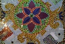 mesa mosaico / by Julissa