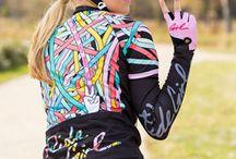 Jersey + Shorts - Women's Cycling / :P
