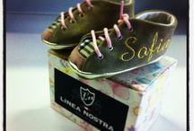 Baby Shoes Personalized  / Scarpine baby con possibilità di personalizzazione di colore pellame + nome o iniziali o date