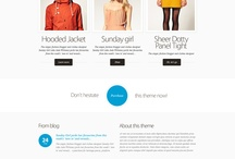 Web Design / Collection of web design examples (screen capture, image, detail)