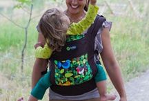 Safe Babywearing Tips and Info / Babywearing brings closeness and ease during those early mothering years... safe babywearing supports baby's developing spine and hips as well!