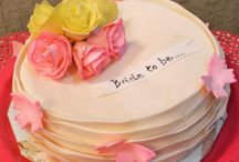Bachelorette Cakes and Cupcakes / A gallery of cakes and cupcakes for Bachelorette parties.