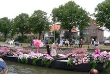 Lia fotografie: varend bloemencorso / Varend Bloemen corso in het Westland, Naaldwijk