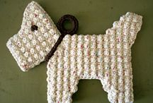 crochet cats and dogs