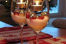 Christmas Table Decorations / Christmas Table Decorations