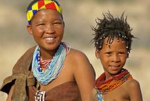 San people of Namibia and the Kalahari Desert