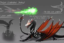 aaa dragon/wyvern/etc ref sheets