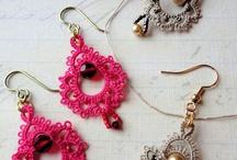 Frivolitky šperky inspirace