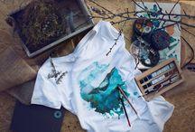 Malebná trička / T-shirts