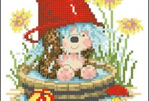 cute cross stitch patterns from the web!