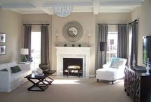 Pavillion beige paint living room decor