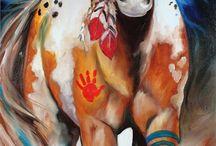 Native horse paint ideas
