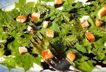 Cooking with herbs and leaves