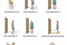 Knee stabilizasion