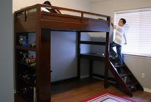 Children loft bed ideas