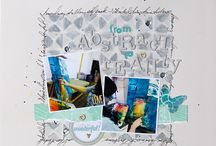 TCW on layouts / Scrapbook layouts using TCW / by The Crafter's Workshop