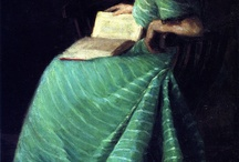 woman who reads