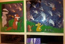 raam schilderingen