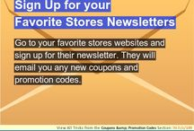 Shopping- Hacks, Tricks, and Tips / Love to shop 'til you drop, check out some tips that will help you  out.