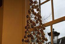 Kerstboom / Kerstboom van kerstballen