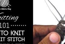 Knitting: Tutorials