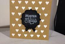"""My handmade cards- """"Made By Her"""" / by stephanie Silvia"""
