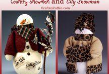 Frosty/Snowmen / by Alta Gardner