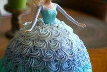 frozen cakes,cupcakes and sweets