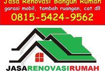 0815.5424.9562 Jasa Renovasi Rumah Sidoarjo