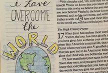 Bible journaling art