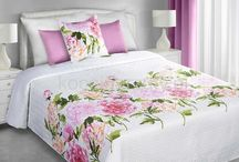 Narzuty dwustronne na łóżko