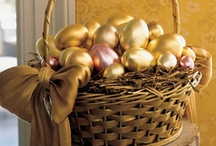 Easter baskets and eggs / by Carolyn Bridges-Brown