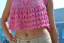 Crochet - Summer Tops
