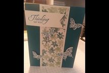 butterfly pop out card