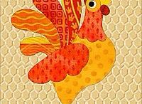Kippen en hanen