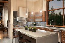 Dark Modern Kitchens