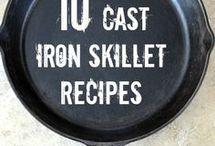 Cast Iron Cookware & Recipes