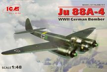 Model Aircraft (Display) / Relating to model aircraft kits, display and flying models.