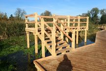 Wooden Viewing Platforms / Getting people interested in nature starts by helping them to enjoy it. Wooden viewing platforms are a great way to do this. See more here: http://www.thewilddeckcompany.co.uk/product-portfolio/viewing-platforms/