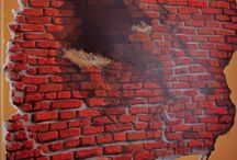 Moje obrazy - Murale