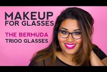 Makeup For Glasses / Best makeup for glasses tips and tutorials.