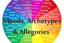 Moods, Archetypes & Allegories -----> / Slippery things.