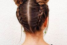 School photo hairstyles